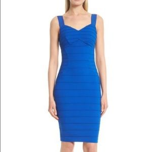 Ted Baker Charlli bodycon dress blue-size 8-NWT